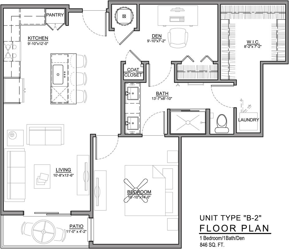 Floor plans 531 grand kansas city for Floor plans kansas city